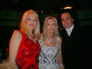 Margo Catsimatidis, Princess Yasmin and Rodolfo Valentin